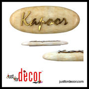 Name Plate - Buy Customised Name Plate Online in India Justfordecor