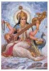 Puja of Goddess Saraswati