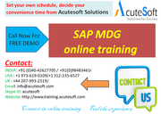 SAP MDG  Online Training with Project Case Studies-AcuteSoft