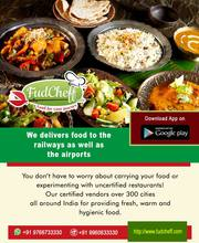 Get food Delivery in train - Fudcheff