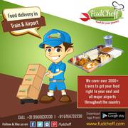 Pure Veg and Jain food in Train - FudCheff.com