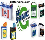 Buy SF Sonic Battery Battery Online,  SF Sonic Car Battery Price List