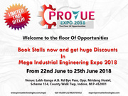 Provue Technologies Company In Pune| Industrial Expo 2018 Indore