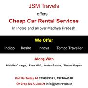Cheap Car Rentals by JSM Travels In Indore Madhya Pradesh