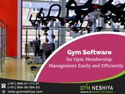 Gym Software for Gym Membership Management Easily and Efficiently