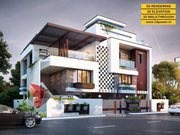 3D Bungalow Rendering & Walkthrough Services by 3D Power