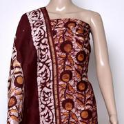 Handblock print dress material,  Traditional dress