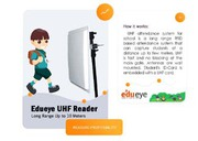 edueye smart solution manangement & security with RFID/UHF attendance