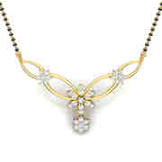 Ladies mangalsutra design
