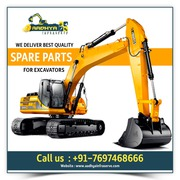 Best Excavator Spare Parts Suppliers in Indore,  aadhyainfraserve