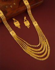 Explore Collection of Rani Haar Design Gold at Best Price