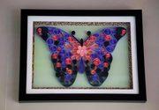 Innovative Raksha Bandhan gifts for Sister Abstract Butterfly art work