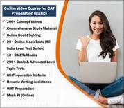 Online CAT Preparation Course | best online cat coaching