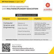 Top BTech Colleges in Indore - Avantika University