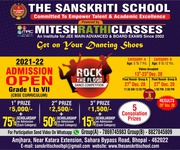 Admission Open.... for The Sanskriti School Bhopal