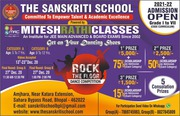 THE SANSKRITI SCHOOL BHOPAL - ADMISSION OPEN