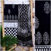 Handblock Print Dress Material Online - SSEthnics