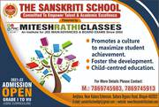 THE SANSKRITI SCHOOL BHOPAL - ADMISSION OPEN FOR 2021-2022