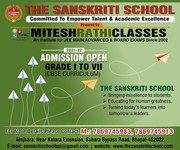 Admission Open In Bhopal For The Sanskriti School