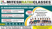 Next Online Screening cum Scholarship Test in Mitesh Rathi Classes