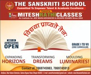The Sanskriti School,  Best Cbse School in Bhopal,  Admission Open