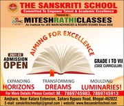 The Sanskriti School,  Best Cbse School,  Admission Open in Bhopal