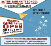 The Sanskriti School Admission Open in Bhopal,  Best Cbse School