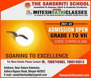 The Sanskriti School,  Best in Bhopal,  Admission Open