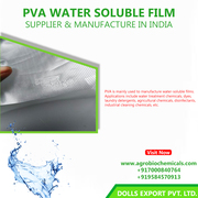 Water Soluble Film Suppliers and Manufactures in India