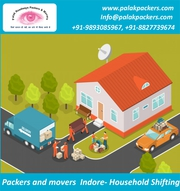 Palak Roadways packers and movers in Indore.