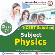 Physics ncert solutions for  class 7